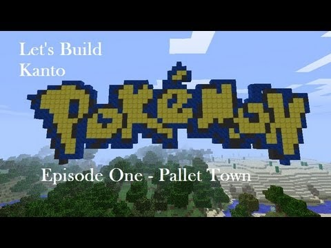 Minecraft Let's Build Kanto | Pallet Town - Episode One