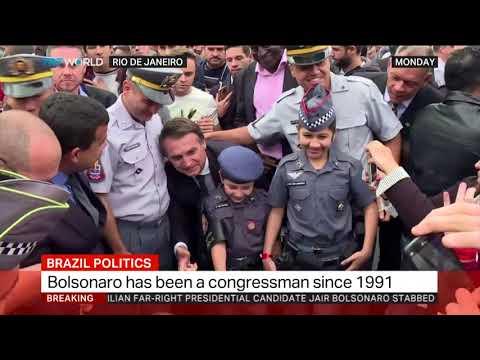 Brazil's Jair Bolsonaro comes out of surgery after stabbing