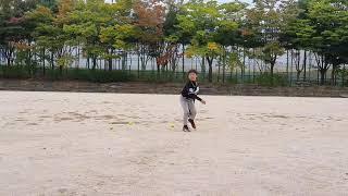 윤오 투수 연습