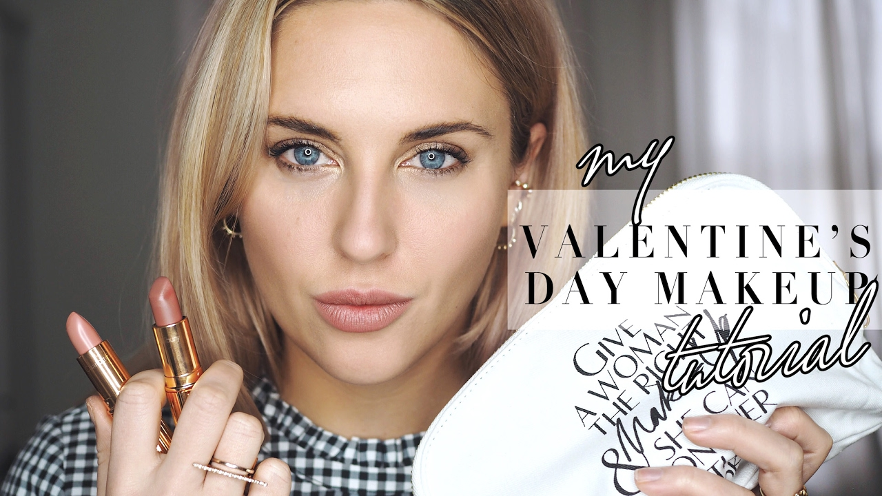 VALENTINES DAY MAKEUP TUTORIAL WITH CHARLOTTE TILBURY