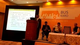Electric Bus Technology in India - Mr. CK Goyal, AVP (Road Transport), DIMTS