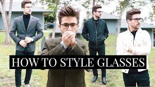 5 Ways to Style Glasses | How to Style Glasses | TheGentlemansCove