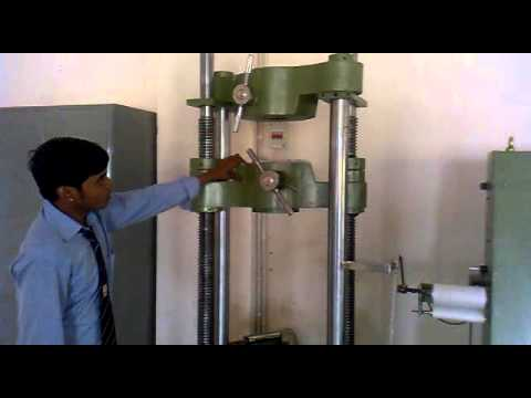 Rajdhani Engineering College UTM (Universal Testing Machine)