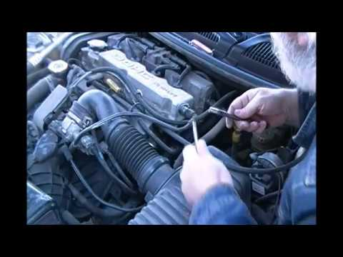 Replacing The Camshaft And Crankshaft Position Sensors