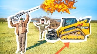 DESTROYING the BEAVER DAM with EXPLOSIVES!! (It Actually Worked!)