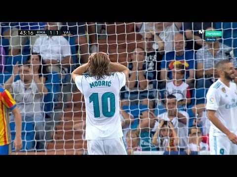 Luka Modric vs Valencia Home (27/08/2017) HD 1080i by Lukita10