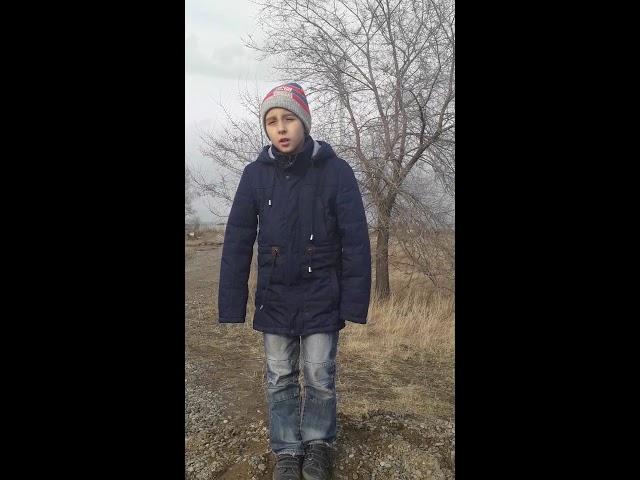 Изображение предпросмотра прочтения – ТимурГах читает произведение «Зима недаром злиться...» Ф.И.Тютчева