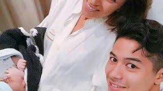 MALIA.の4人目の夫・三渡洲舞人、男児誕生に「ママありがとう」…親子ショットも公開 サントス舞人 検索動画 15