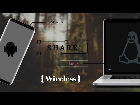 How to Share Files Between Android and Linux | wireless | File transfer On Linux and Android