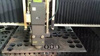BODOR fiber laser cutting machine 1500W cutting 12mm carbon steel