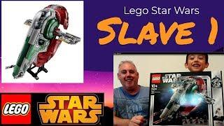 Лего Зоряні війни слейв 1 іграшка огляд
