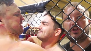 MAKING OF: LAME MMA Robert vs Czarek - [ AbstrachujePLUS ]