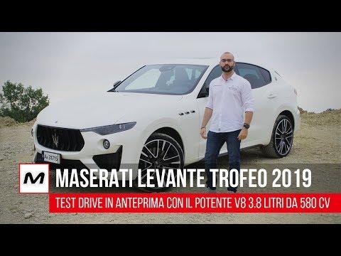 Maserati Levante Trofeo 2019   Test Drive del grintoso V8 da 580 CV