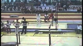 Parallel bars - Gymnast 5 (Voronin Cup 2012)