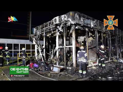 ТРК НІС-ТВ: Объектив 16 08 19 На рынке Колос выгорел киоск с вещами