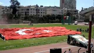 Karşıyaka Çocuklarının 23 Nisan Törenindeki Muhteşem Final Koreografisi - 23.04.2012
