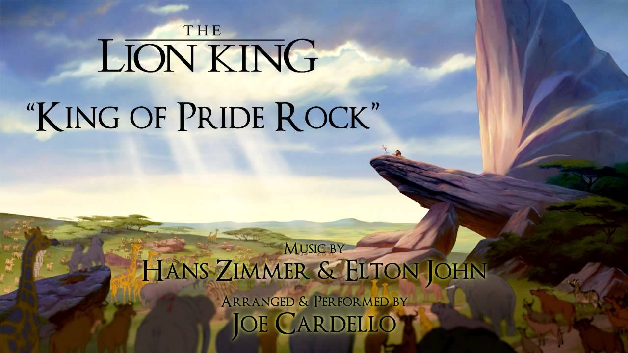 King Of Pride Rock The Lion King On Piano