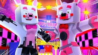 Minecraft Fnaf Daycare: Mangle and Foxy Jr Makes Amends! (Minecraft Roleplay)