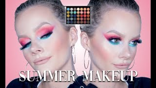 DRAMATIC SUMMER MAKEUP LOOK! | MORPHE 35H TUTORIAL/FIRST IMPRESSION!!