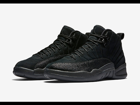 c467d0d5942 Air Jordan 12 OVO Black • KicksOnFire.com