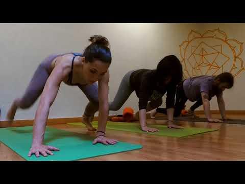 Yoga inspirado en Bowspring A Coruña - Curso 2018/2019