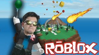ROBLOX - A SOCORRIST IN NATURAL DISASTERS - I AM THE WORST SURVIVOR
