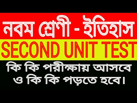 Class 9 History Suggestion 2020/Second Unit Test Question/2nd Summative Evaluation Examination Test