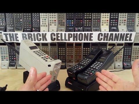Motorola Ultra Digital Vintage Brick Cell Phone (like Dynatac) unboxing