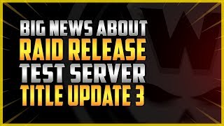 The Division 2 | RAID & Title Update Release dates & much more!