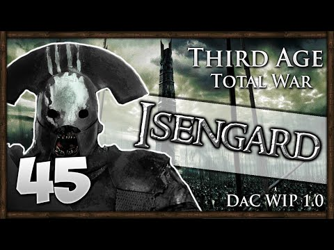 PIKE DEFENCE! Third Age Total War: Divide & Conquer - Isengard Campaign #45