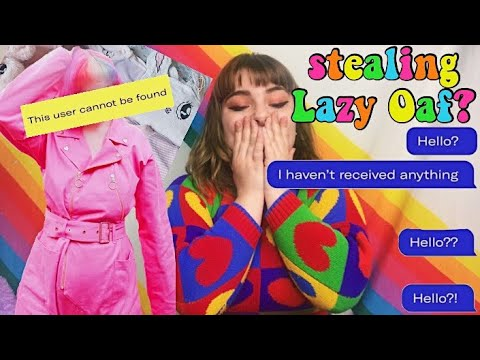 The Lazy Oaf SCAMMER | What Can we Learn?