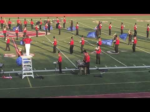 The Divine Child High School Marching Band ~ MSBOA Festival 2018