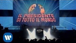 Max Pezzali -- Il Presidente di tutto il Mondo (Videoclip MAX20 Tour)