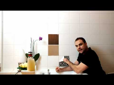 klebefliesen und fliesenfolie einfach-entfernen - youtube, Badezimmer