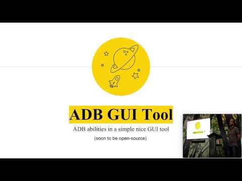 ADB-GUI-Tool, GDG Melbourne (25.01.2017)