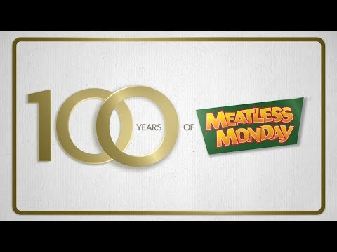 Meatless Monday: Choose to Go Meatless One Day a Week – A Timely Idea that Started 100 Years Ago