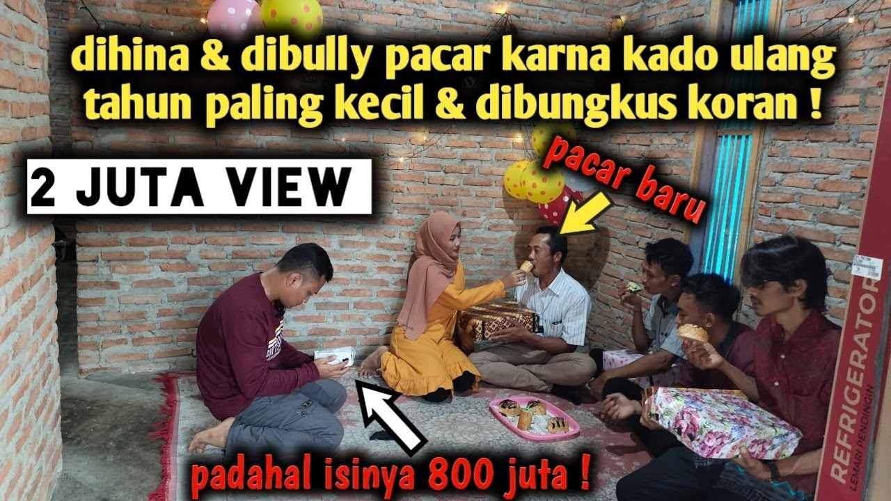 Download DIHINA & DIBULLY DI DEPAN PACAR BARU KARNA KADONYA PALING KECIL & DIBUNGKUS KORAN ! PADAHAL ISINYA‼️