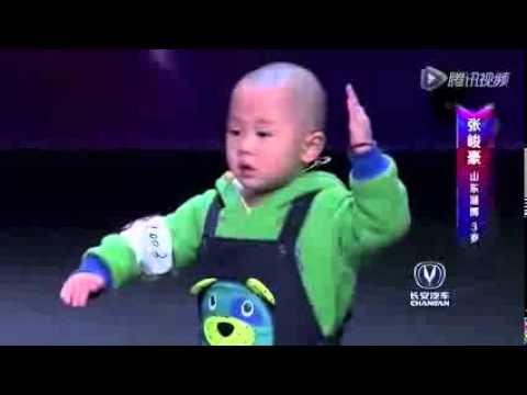 Zhang, el chino de 3 años que ha revolucionado un programa de talentos