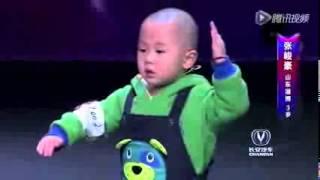Zhang, el chino de 3 años que ha revolucionado un programa de talentos thumbnail