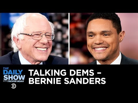 Talking Dems - What Bernie Sanders Has Learned About Race in America | The Daily Show