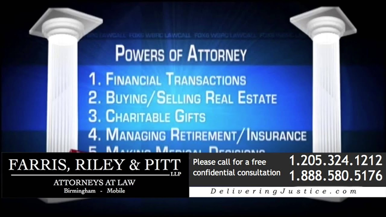 how to find out who has power of attorney