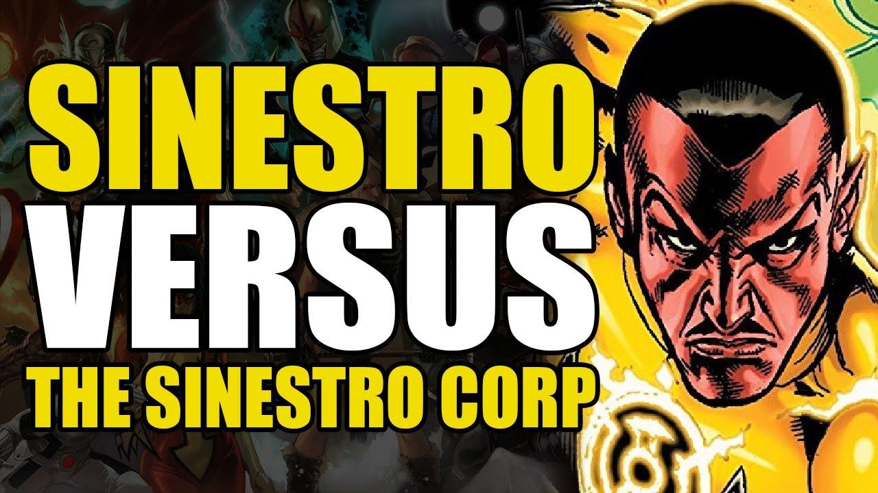 Sinestro vs The Sinestro Corps: New 52 Green Lantern Vol 1 Sinestro