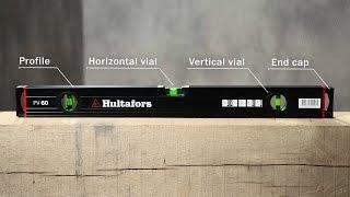 Hultafors - Spirit level HV and PV