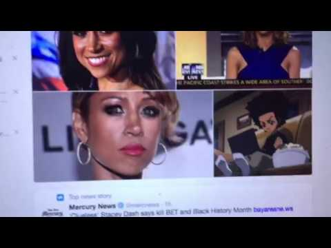 Stacey Dash Hates Being Black, Needs Help