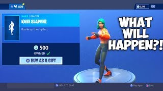 WHAT HAPPENS IF YOU GIFT SOMEONE SOMETHING THEY ALREADY OWN?! (Fortnite Battle Royale)
