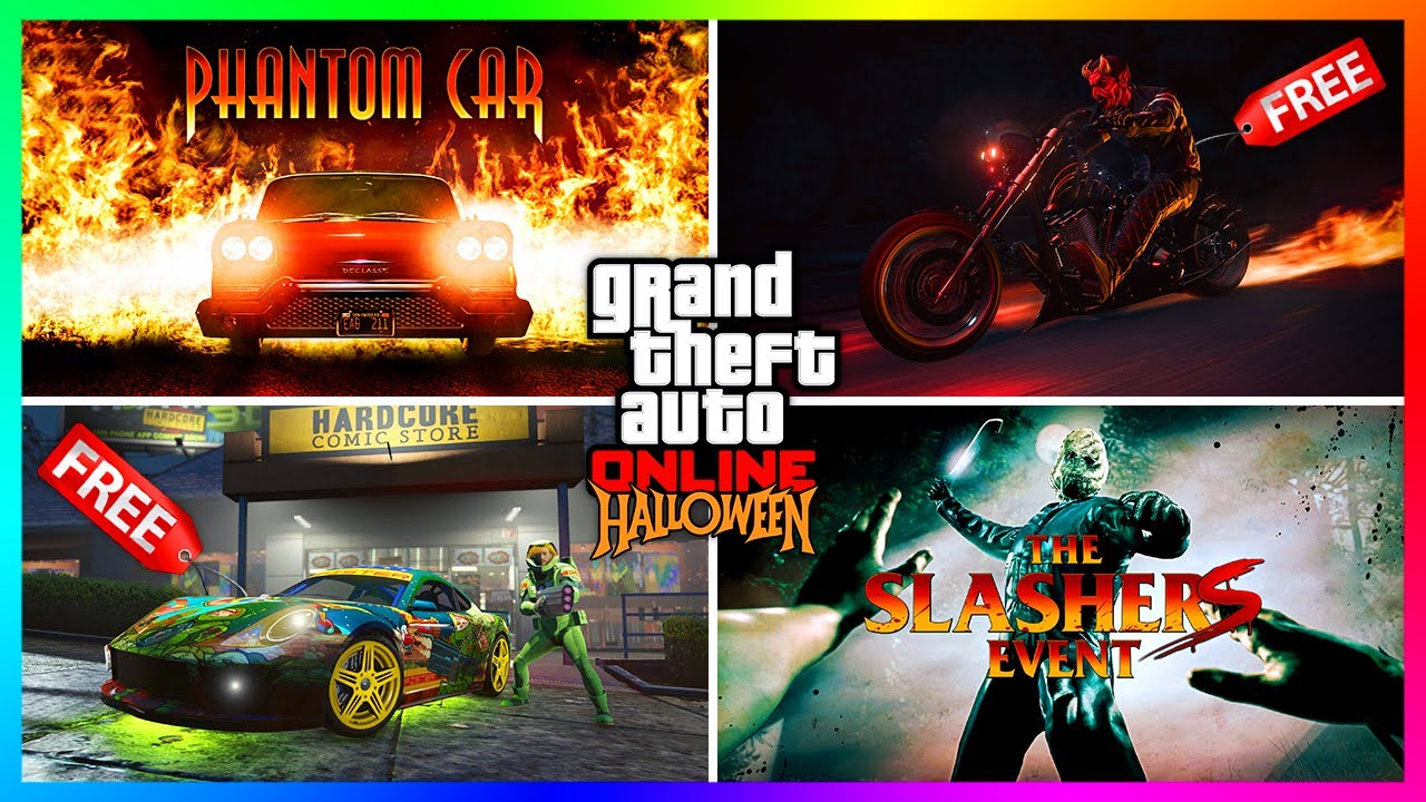 Download GTA 5 Online Halloween 2021 DLC Update - FREE Vehicles, Anniversary Items, RARE Events & MORE!