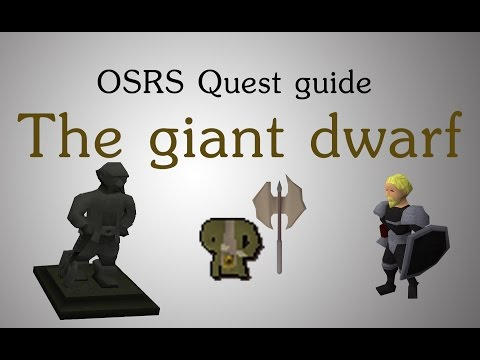 [OSRS] The giant dwarf quest guide