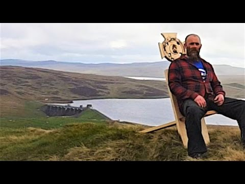 Woodworking & Router Projects – Celtic Knot – Viking Birthing Chair