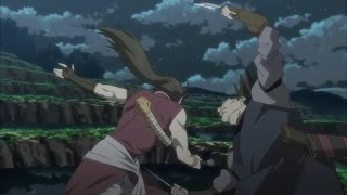 Woman warrior fights 4 assassins