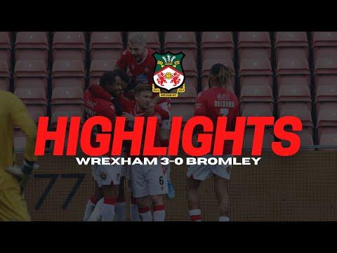 Wrexham Bromley Goals And Highlights